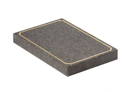 Dark Grey Granite cremation