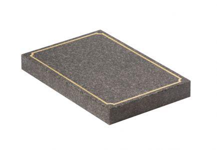 Dark Grey Granite cremation
